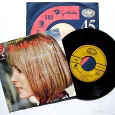 Discos de vinilo: MARISA SANNIA - L'AMORE È UNA COLOMBA / UNA LACRIMA (PERET COVER) - SINGLE SEVEN SEAS 1970 JAPAN BPY. Lote 225043575