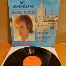 Discos de vinilo: JIMENEZ REJANO / RIO GUADALQUIVIR / LP - OLYMPO-1980 / MBC. ***/***. Lote 225044563