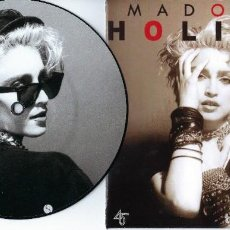 Discos de vinilo: MADONNA 7 INCH VINYL SINGLE HOLIDAY ONE SIDED PICTURE DISC MADAME X. Lote 225072765