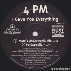 "Discos de vinilo: 4PM ‎– I GAVE YOU EVERYTHING - US VERSION - VINYL, 12"", 33 ⅓ RPM, PROMO. Lote 225074510"