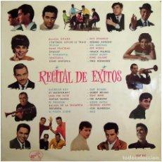 Discos de vinilo: VVAA - RECITAL DE ÉXITOS - LP SPAIN 1963 - LA VOZ DE SU AMO LCLP 213. Lote 225080645