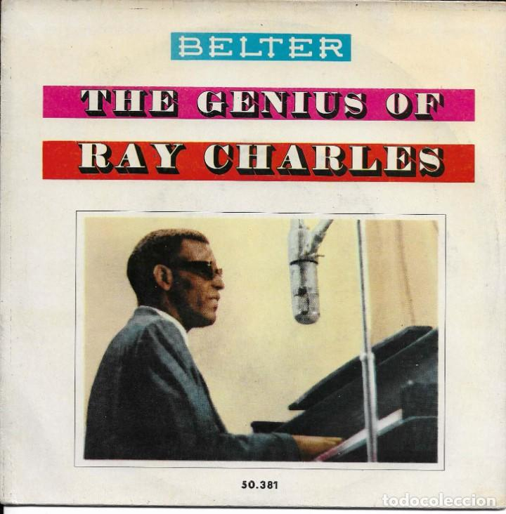 RAY CHARLES THE GENIUS OF RAY CHARLES BELTER 1960 (Música - Discos de Vinilo - EPs - Funk, Soul y Black Music)