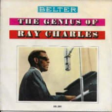 Discos de vinilo: RAY CHARLES THE GENIUS OF RAY CHARLES BELTER 1960. Lote 225086105