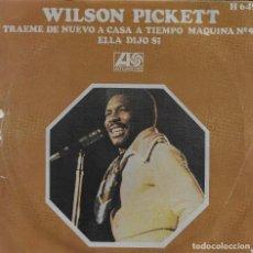 Discos de vinilo: WILSON PICKETT TRAEME DE NUEVO A CASA A TIEMPO ATLANTIC 1970. Lote 225086490
