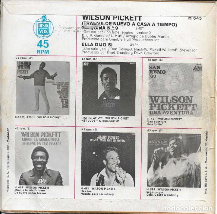 Discos de vinilo: WILSON PICKETT TRAEME DE NUEVO A CASA A TIEMPO ATLANTIC 1970 - Foto 2 - 225086490