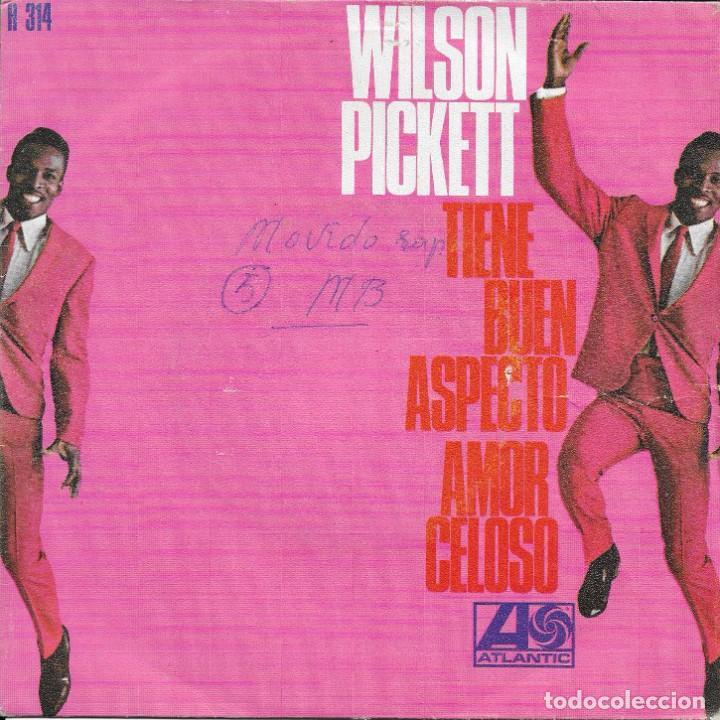 WILSON PICKETT TIENE BUEN ASPECTO ATLANTIC 1968 (Música - Discos - Singles Vinilo - Funk, Soul y Black Music)