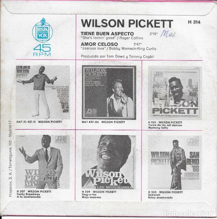 Discos de vinilo: WILSON PICKETT TIENE BUEN ASPECTO ATLANTIC 1968 - Foto 2 - 225086805