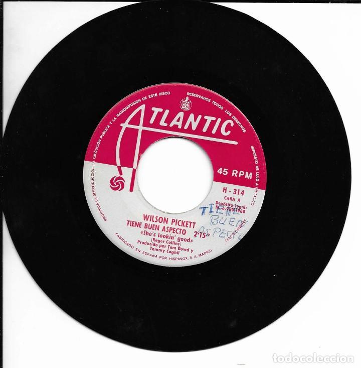 Discos de vinilo: WILSON PICKETT TIENE BUEN ASPECTO ATLANTIC 1968 - Foto 3 - 225086805
