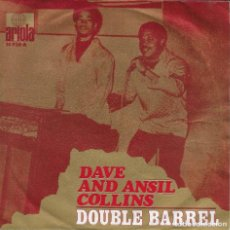 Discos de vinilo: DAVE AND ANSIL COLLINS DOUBLE BARREL ARIOLA 1971. Lote 225087280