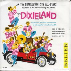 Discos de vinilo: THE CHARLESTON CITY ALL STARS GO DIXIELAND. Lote 225088098