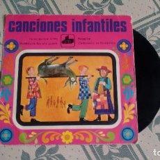 Discos de vinil: E.P. (VINILO) DE CANCIONES INFANTILES AÑOS 70. Lote 225088160