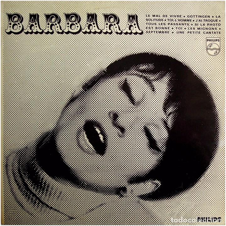 Discos de vinilo: Barbara - Barbara Nº 2 - Lp France - Philips 844.741 BY - Foto 1 - 225090710