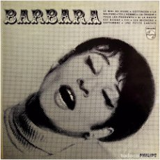 Discos de vinilo: BARBARA - BARBARA Nº 2 - LP FRANCE - PHILIPS 844.741 BY. Lote 225090710