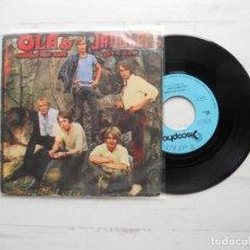 Disques de vinyle: OLA & JANGLERS* – CALIFORNIA SUN / YES I CAN SINGLE ESPAÑOL 1970VG++/VG+. Lote 225098442