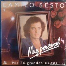Discos de vinil: CAMILO SESTO // MUY PERSONAL //DOBLE DISCO Y PORTADA//1982//(VG VG). LP. Lote 225101790