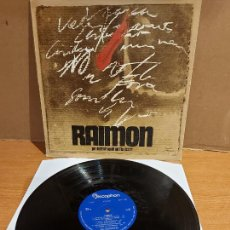 Discos de vinilo: RAIMON / PER DETRUIR AQUELL QUI L'HA DESERT / LP-GATEFOLD / MBC. ***/*** PORTADA TAPIES.. Lote 225119230