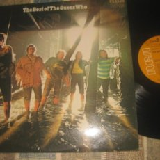 Discos de vinilo: THE GUESS WHO THE BEST OF GUESS WHO (RCA 1975) OG ESPAÑA SIN SEÑALES DE USO. Lote 225128680