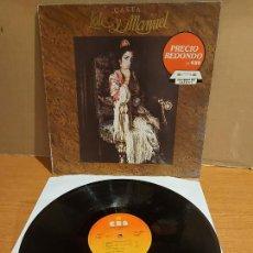 Discos de vinilo: LOLE Y MANUEL / CASTA / LP - CBS-1985 / MBC. ***/***. Lote 225131233