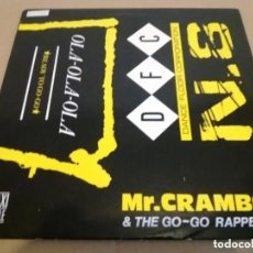 Discos de vinilo: MR. CRAMBO & THE GO-GO RAPPERS / OLA-OLA-OLA / MAXI-SINGLE 12 INCH. Lote 225148035