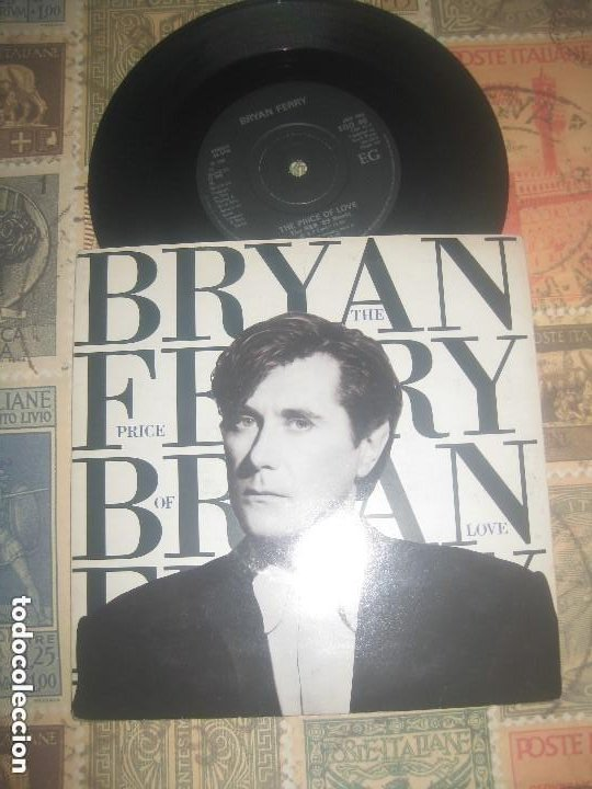 BRYAN FERRY AND ROXY MUSIC - THE PRICE OF LOVE / LOVER (EGO-1976-1980) OG UK EXCELENTE ESTADO (Música - Discos de Vinilo - Singles - Pop - Rock Internacional de los 80)