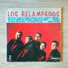 Discos de vinilo: LOS RELAMPAGOS - NOVOLA – NL-1.003, 1965. SPAIN. Lote 225157812