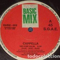 Discos de vinilo: CAPPELLA – HELYOM HALIB. Lote 225158190