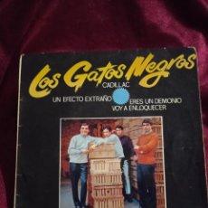 Discos de vinilo: LOS GATOS NEGROS. Lote 225166685