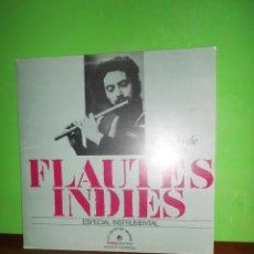 Discos de vinilo: ALFREDO DE ROBERTIS - FLAUTES INDIES ESPECIAL INSTRUMENTAL - LP - DISPONGO DE MAS DISCOS DE VINILO. Lote 225167280