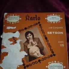 Discos de vinilo: HARLO Y EL CONJUNTO SETSON. Lote 225172160