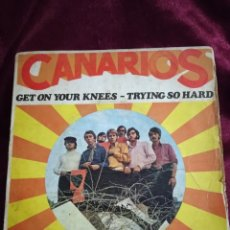 Discos de vinilo: CANARIOS. Lote 225172272