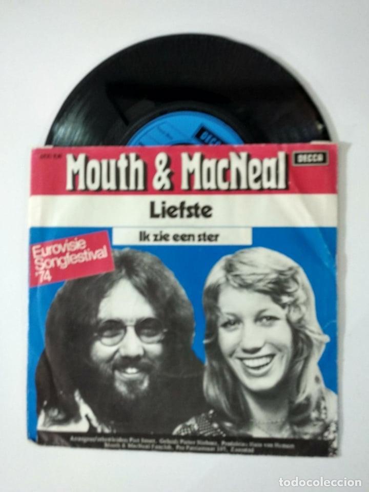 MOUTH & MACNEAL ?– IK ZIE EEN STER 1974 EUROVISION (Música - Discos - Singles Vinilo - Festival de Eurovisión)