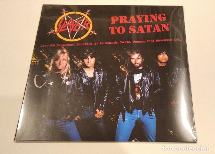 SLAYER - PRAYING TO SATAN (LP REEDICIÓN) NUEVO Y PRECINTADO (Música - Discos - LP Vinilo - Heavy - Metal)