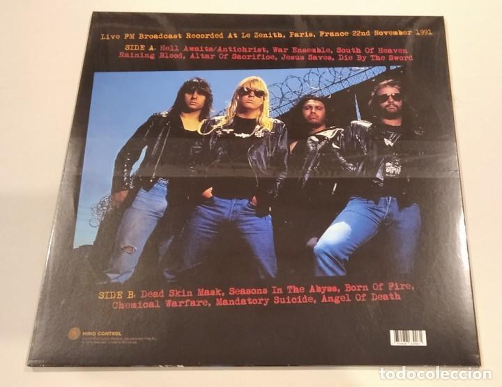 Discos de vinilo: SLAYER - Praying to Satan (LP reedición) NUEVO Y PRECINTADO - Foto 2 - 225180921