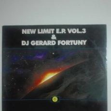Discos de vinilo: DISCO VINILO LIES THINK ABOUT YOUR BODY DJ GERARD FORTUNY - NEW LIMIT E.P. VOL 3 - 210G. Lote 225192485
