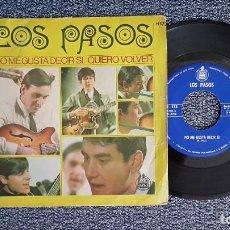 Discos de vinilo: LOS PASOS - NO ME GUSTA DECIR SI / QUIERO VOLVER. EDITADO POR HISPAVOX. AÑO 1.967. Lote 225211167