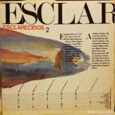 Discos de vinilo: ESCLARECIDOS 2 - 1985. Lote 225212520