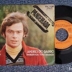 Discos de vinilo: ANDRES DO BARRO - PANDEIRADA / TEÑO SAUDADE. EDITADO POR RCA. AÑO 1.971. Lote 225213785
