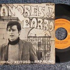 Discos de vinilo: ANDRES DO BARRO - CORPIÑO XEITOSO / RAPACIÑA. EDITADO POR RCA. AÑO 1.970. Lote 225214050