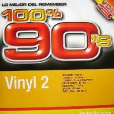 Discos de vinilo: 100% 90'S VOL. 3 (VINYL 2). Lote 225214821