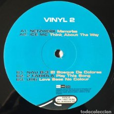 Discos de vinilo: VARIOUS – 100% 90'S VOL. 2 (VINYL 2). Lote 225216745