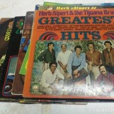 Discos de vinilo: 10 LPS DE HERB ALBERT & THE TIJUANA BRASS, THE LONELY BULL, AMERICA, SOUTH OF THE BORDER...... Lote 225219263