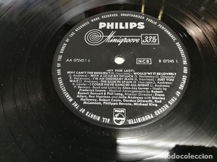 Discos de vinilo: 2 LP MY FAIR LADY REX HARRISON JULIE ANDREWS EDCIONES PHILIS Y COLUMBIA USA 1958 - Foto 6 - 225220187