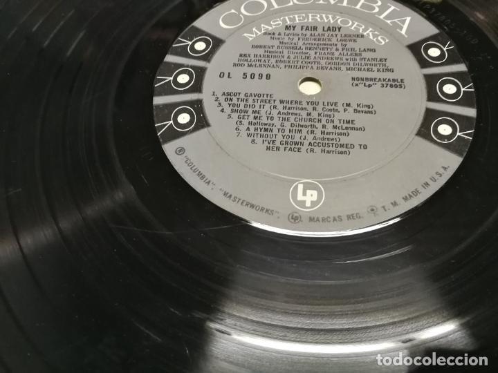 Discos de vinilo: 2 LP MY FAIR LADY REX HARRISON JULIE ANDREWS EDCIONES PHILIS Y COLUMBIA USA 1958 - Foto 8 - 225220187
