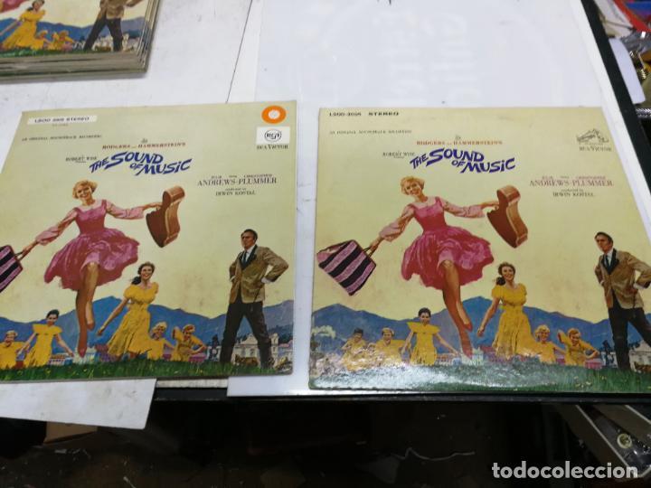 ORIGINALES 2 LPS RODGERS & HAMMERSTEIN JULIE ANDREWS– THE SOUND OF MUSIC 1965 EDICION USA Y GERMANY (Música - Discos - LP Vinilo - Bandas Sonoras y Música de Actores )