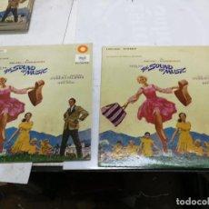 Discos de vinilo: ORIGINALES 2 LPS RODGERS & HAMMERSTEIN JULIE ANDREWS– THE SOUND OF MUSIC 1965 EDICION USA Y GERMANY. Lote 225220495