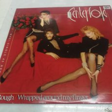 Disques de vinyle: CENTERFOLD (ROUGH-WFAPPED AROUND MY FINGER) 1986 MAXISINGLE 45. Lote 225223205