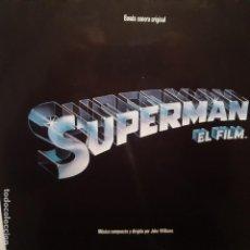 Dischi in vinile: SUPERMAN EL FILM - BANDA SONORA- SPAIN 2 LP 1978- COMO NUEVO.. Lote 225226375