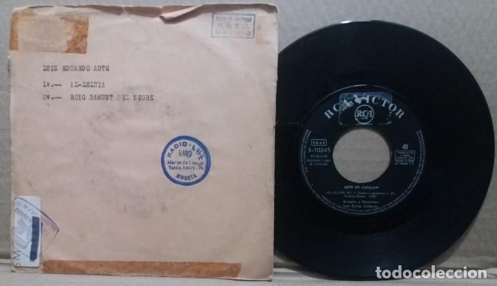 AUTE EN CATALAN / AL-LELUIA / SINGLE 7 INCH (Música - Discos - Singles Vinilo - Solistas Españoles de los 50 y 60)