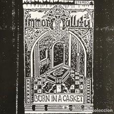 Discos de vinilo: IMMORTALLITY - BORN IN A CASKET - LP [NWN!, 2020 · LIM. 250]. Lote 225249055
