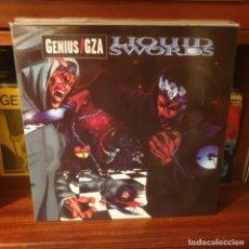 Disques de vinyle: GENIUS / GZA / LIQUID SWORDS / DOBLE ALBUM / NOT ON LABEL. Lote 225261390
